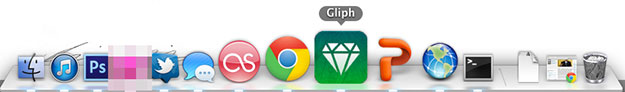 Gliph mobile web app in os x doc secure